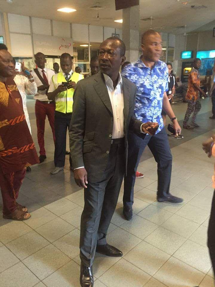 BENIN - Patrice TALON est arrivé à Cotonou : Le jour de gloire est enfin arrivé et le soleil s'est levé pour illuminer le Bénin !!!