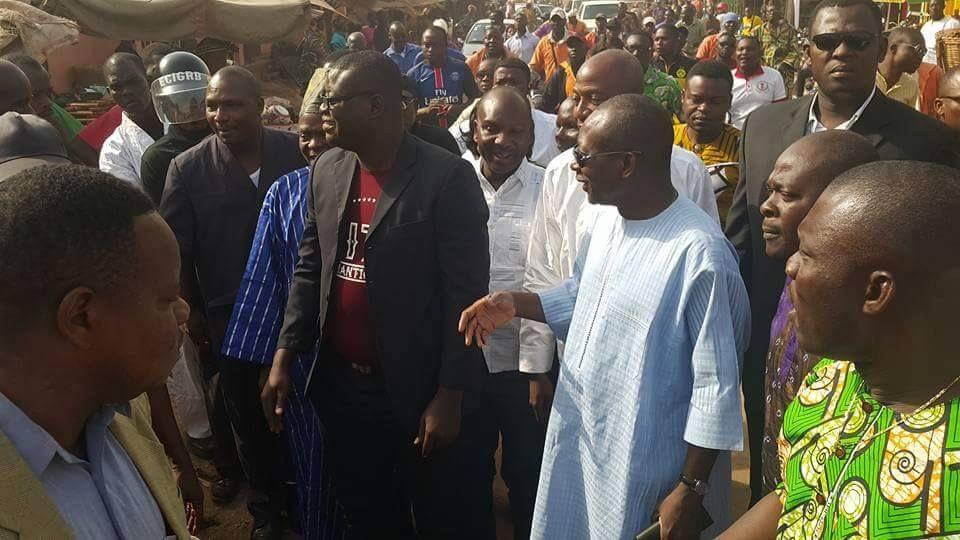 BENIN: Patrice TALON triomphant et rayonnant à Abomey, sa ville maternelle !!!