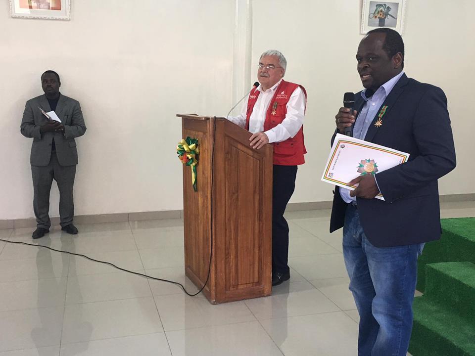 BENIN – Le Président Patrice TALON reconnaît les mérites d'un béninois de la diaspora : Le Dr José KOUSSEMOU et ses partenaires allemands faits Commandeurs dans l'Ordre National du Bénin