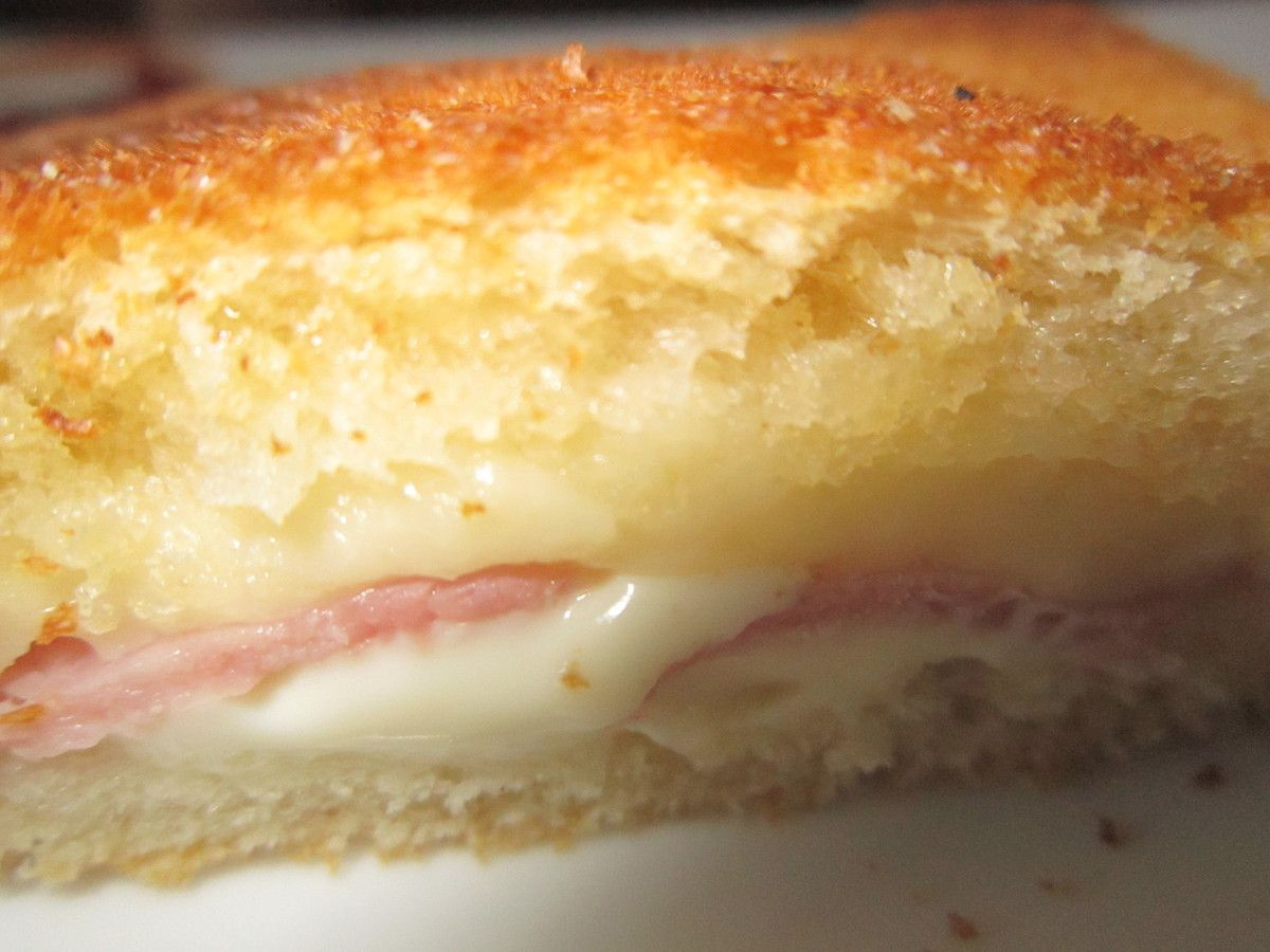 Croque monsieur a ma fa on delices d 39 edith - Croque monsieur sans bechamel ...