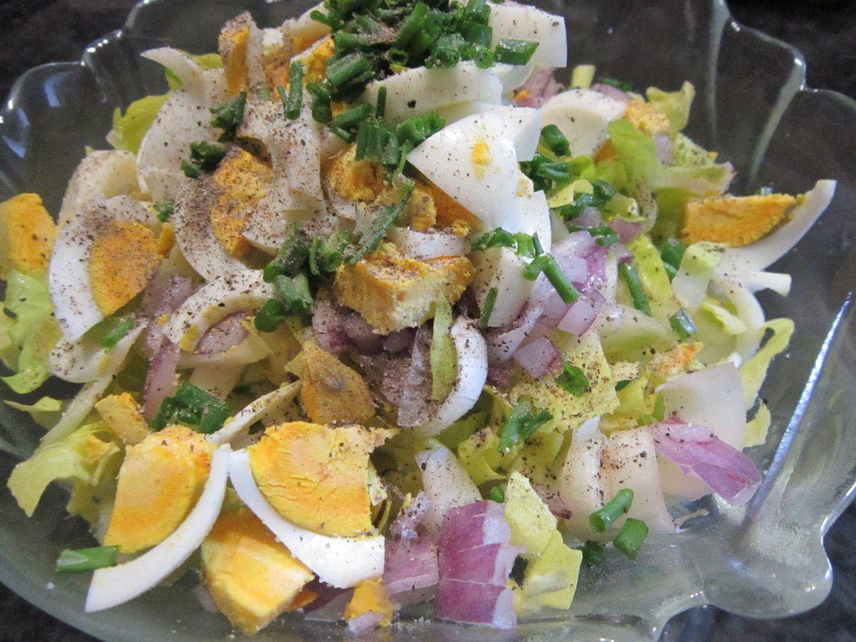 salade de chicons crus de ma maman