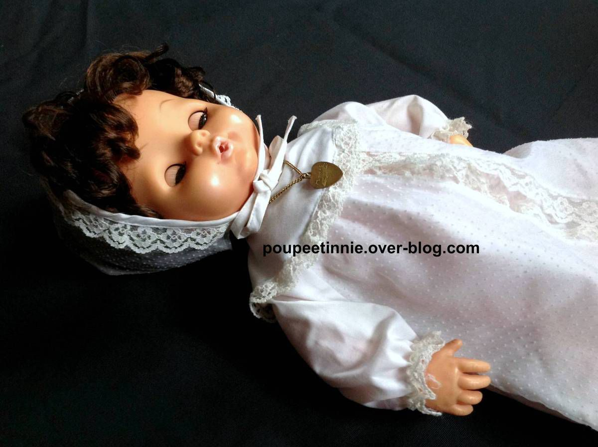 Tenue de baptême Tinnie Raynal Miro Meccano 1980