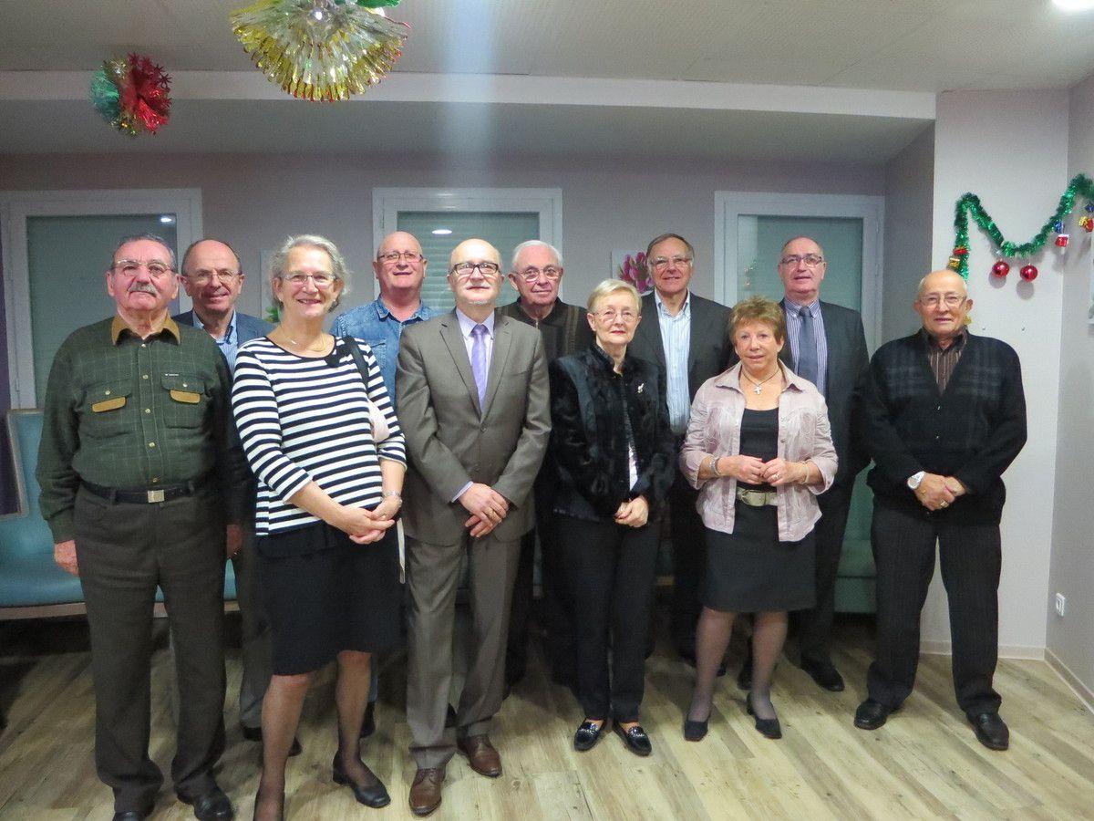 Bonne et heureuse année de la part du conseil d'administration, des salariés et des bénévoles