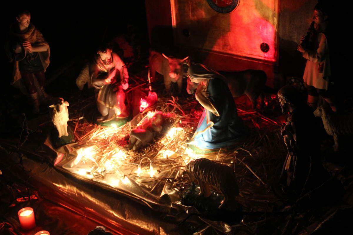 Nuit de Noel dans la tradition.