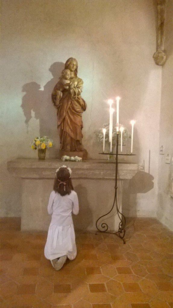 Dimanche 23 octobre : première communion de Hombeline