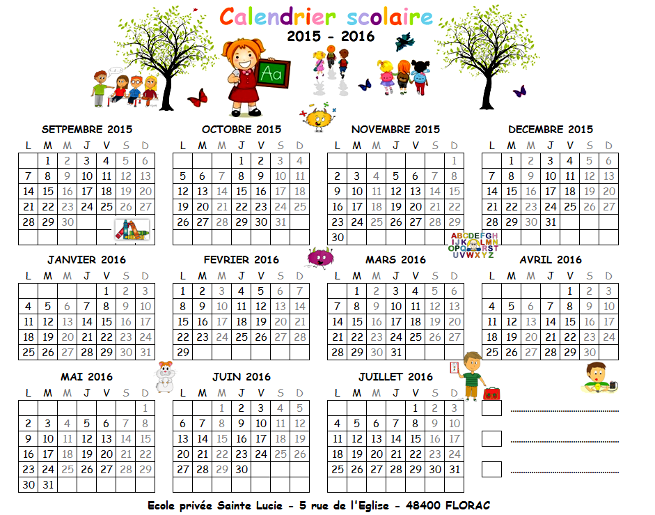 Calendrier Enfant Septembre 2015 | Search Results | Calendar 2015