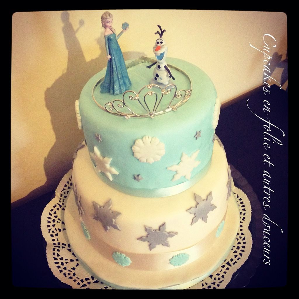Wedding Cake Reine des Neiges