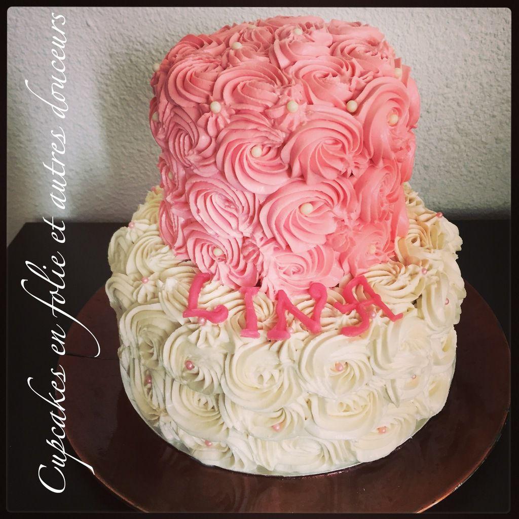 Rose Cake Chocolat/Vanille