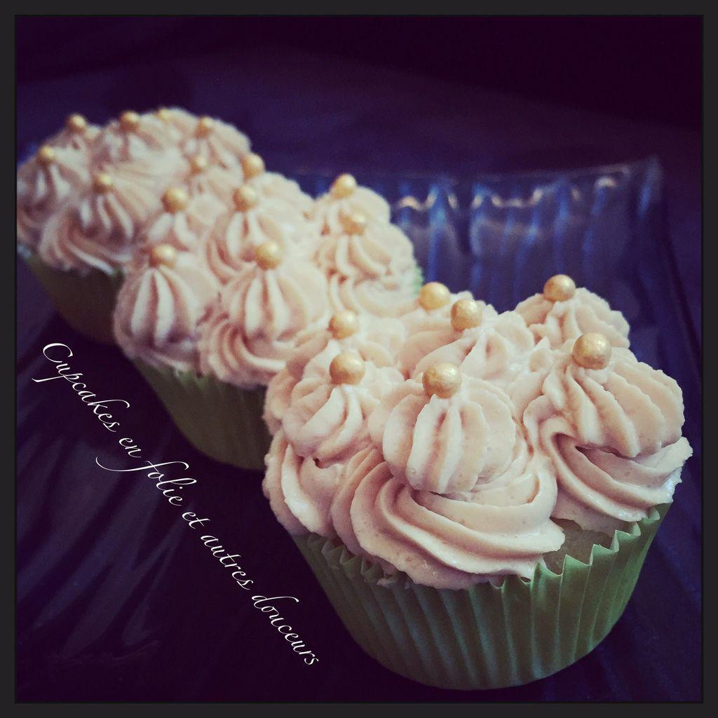 Cupcakes Caramel Beurre salé