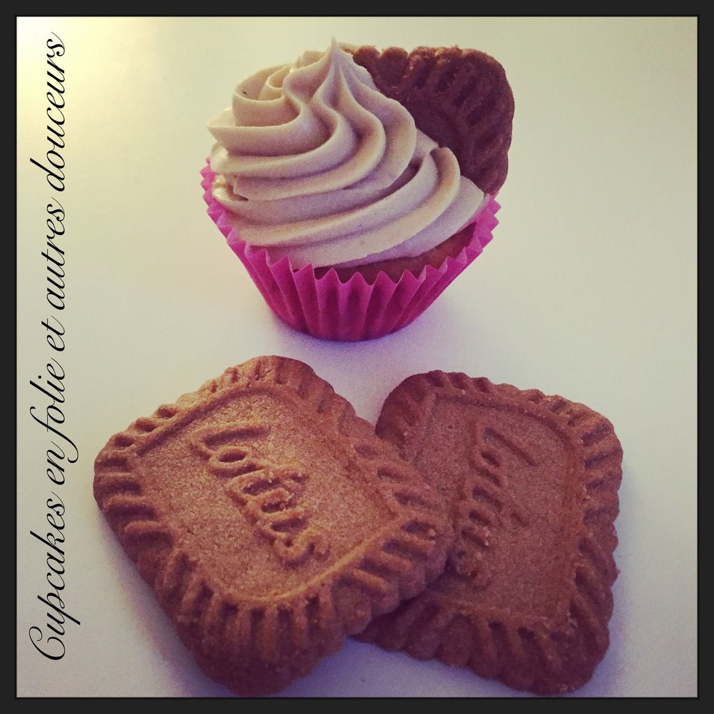 Cupcakes Pommes/Speculoos (version 2)