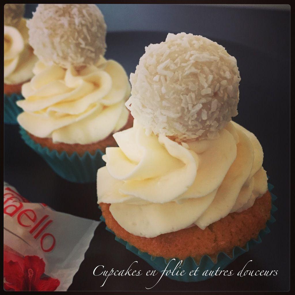 Cupcakes Raffaello (à la noix de coco)