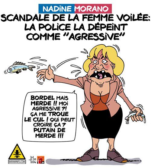 Femme voilée : scandale de Nadine Morano