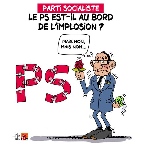 Le PS au bord de l'implosion ?
