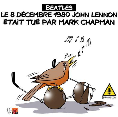 Le 8 décembre 1980 John Lennon était assassiné