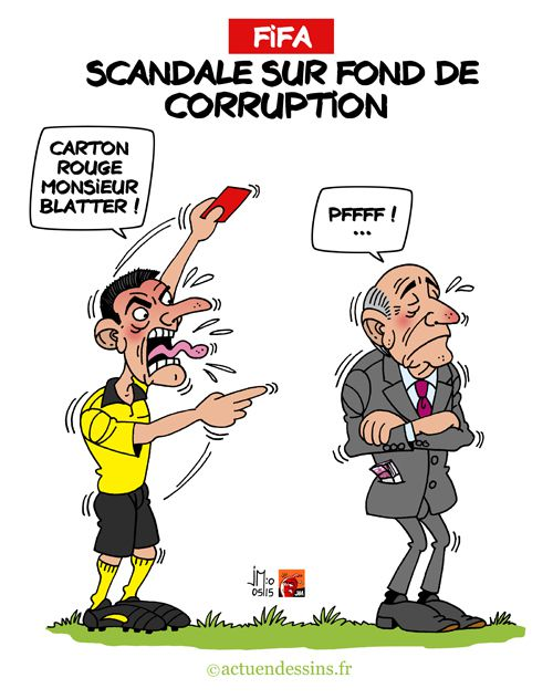 FIFA : scandale sur fond de corruption