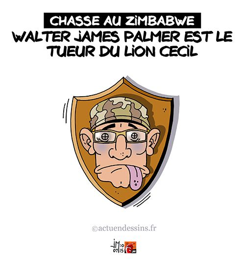 Horrible mort du lion Cecil du Zimbabwe