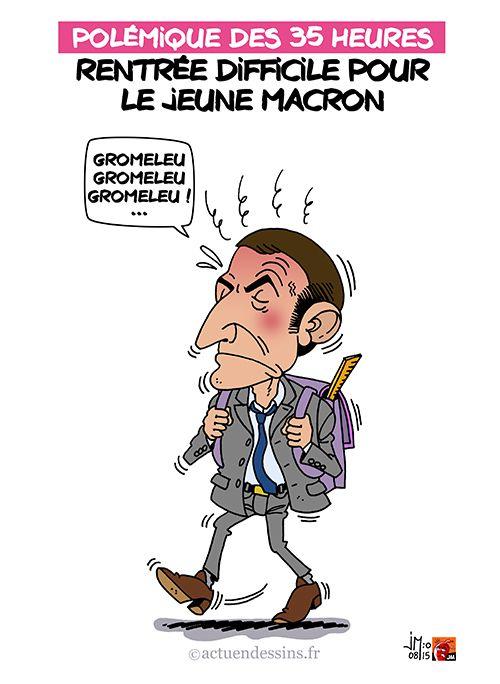 Emmanuel Macron et les 35 heures