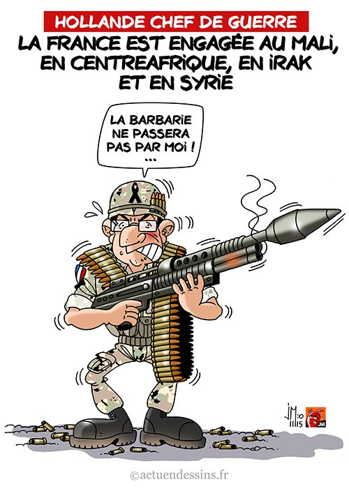 Hollande chef de guerre !
