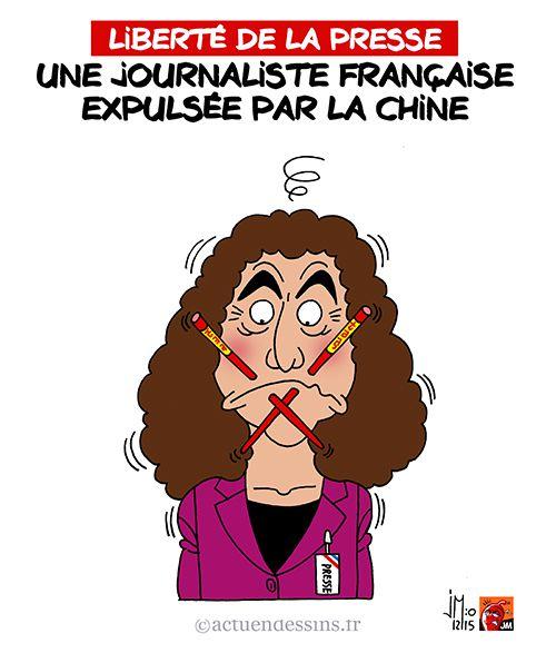 Une journaliste française expulsée par la Chine