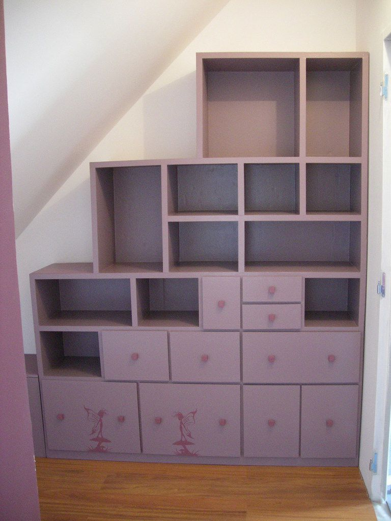dressing sous pente meubles en carton angers. Black Bedroom Furniture Sets. Home Design Ideas