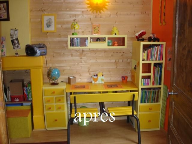 rangements bureau enfant meubles en carton angers. Black Bedroom Furniture Sets. Home Design Ideas