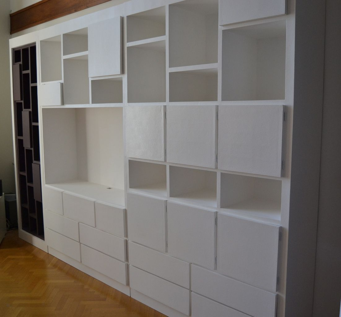 biblioth que carton meubles en carton angers. Black Bedroom Furniture Sets. Home Design Ideas