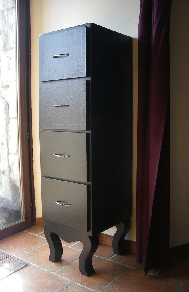 chiffonnier en carton meubles en carton angers. Black Bedroom Furniture Sets. Home Design Ideas