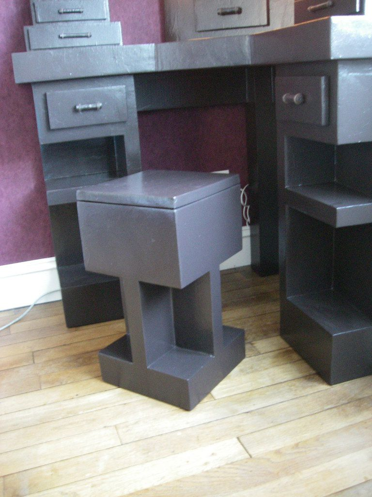 coiffeuse d 39 angle meubles en carton angers. Black Bedroom Furniture Sets. Home Design Ideas