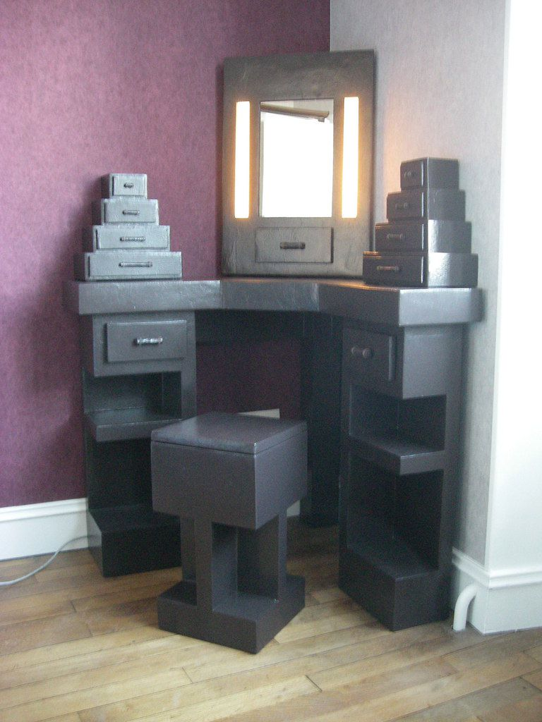 coiffeuse meuble. Black Bedroom Furniture Sets. Home Design Ideas