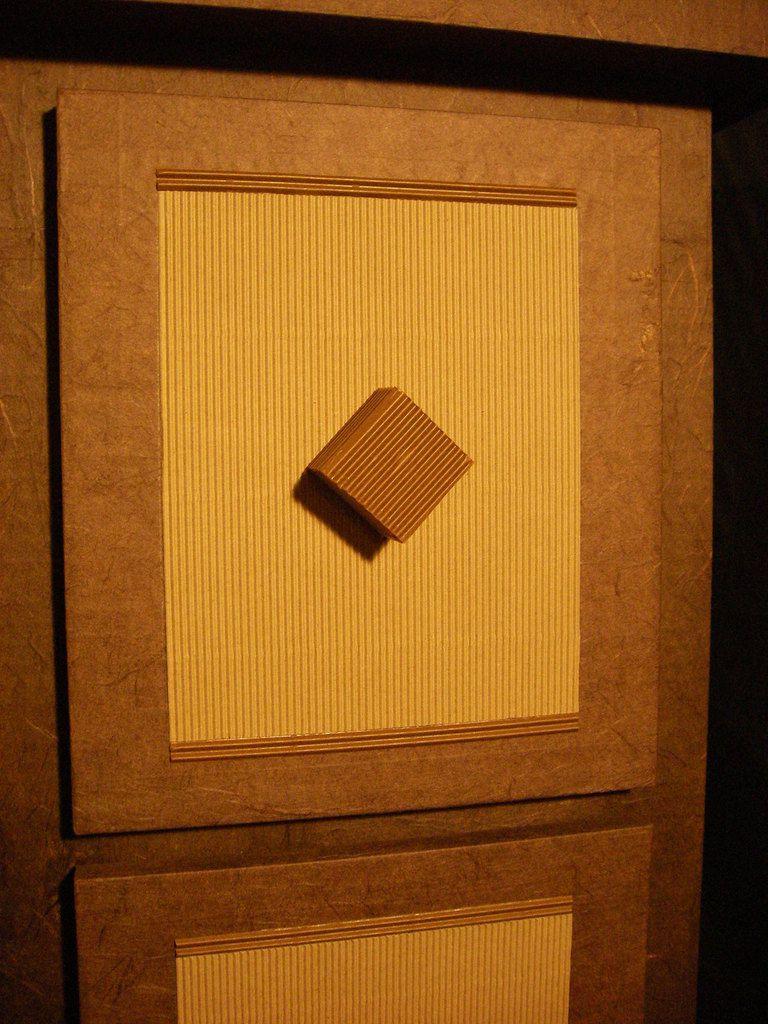Façade de tiroir en carton