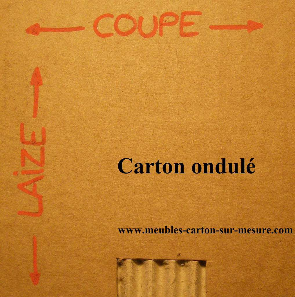 le mat riau carton meubles en carton angers. Black Bedroom Furniture Sets. Home Design Ideas