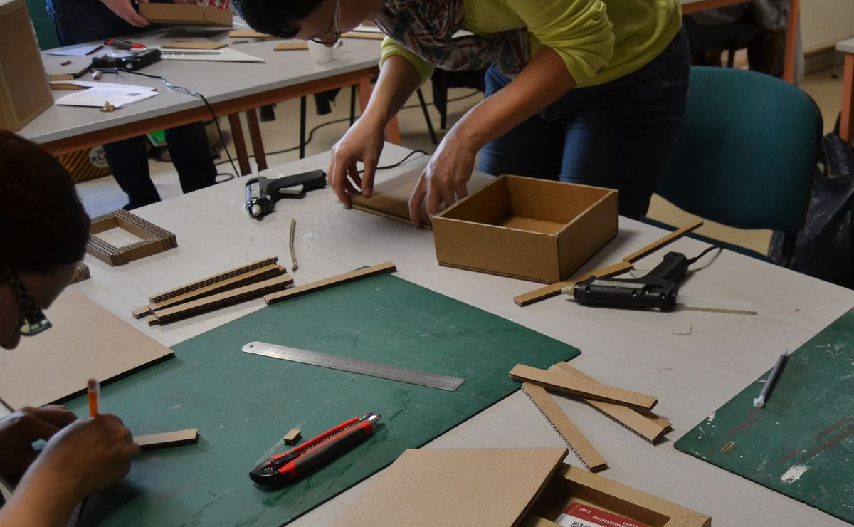 Atelier découverte du carton