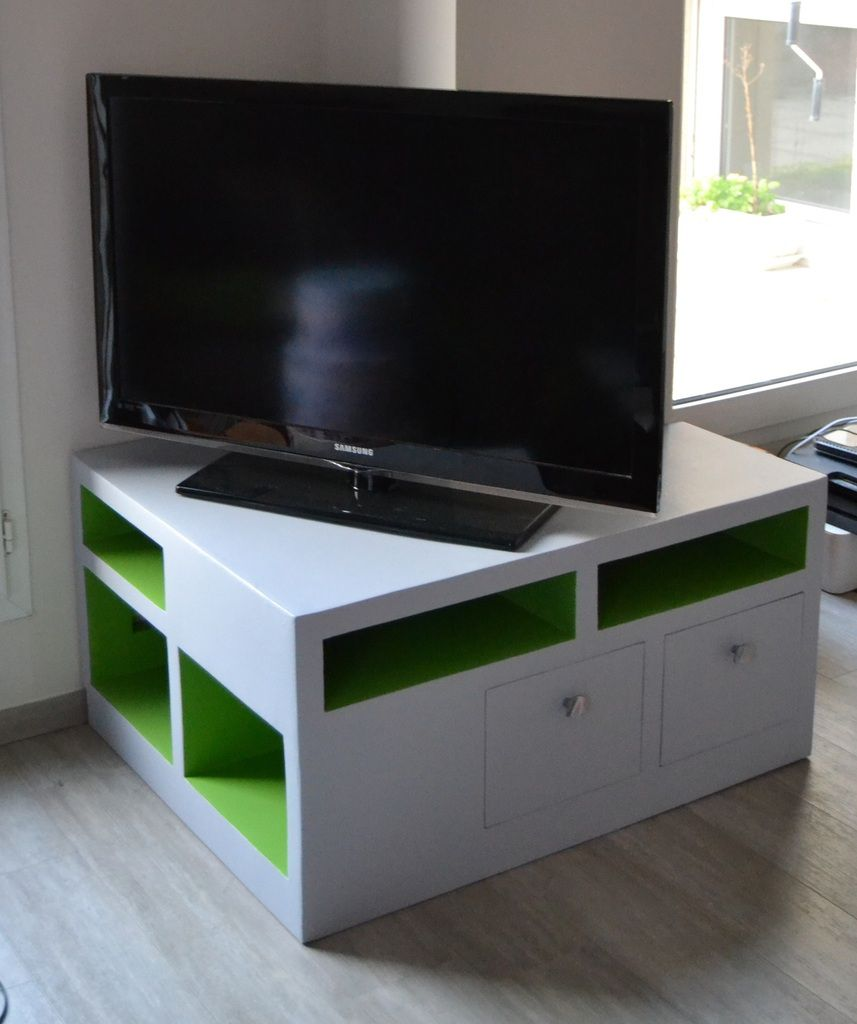 meuble angle tv meubles en carton angers. Black Bedroom Furniture Sets. Home Design Ideas