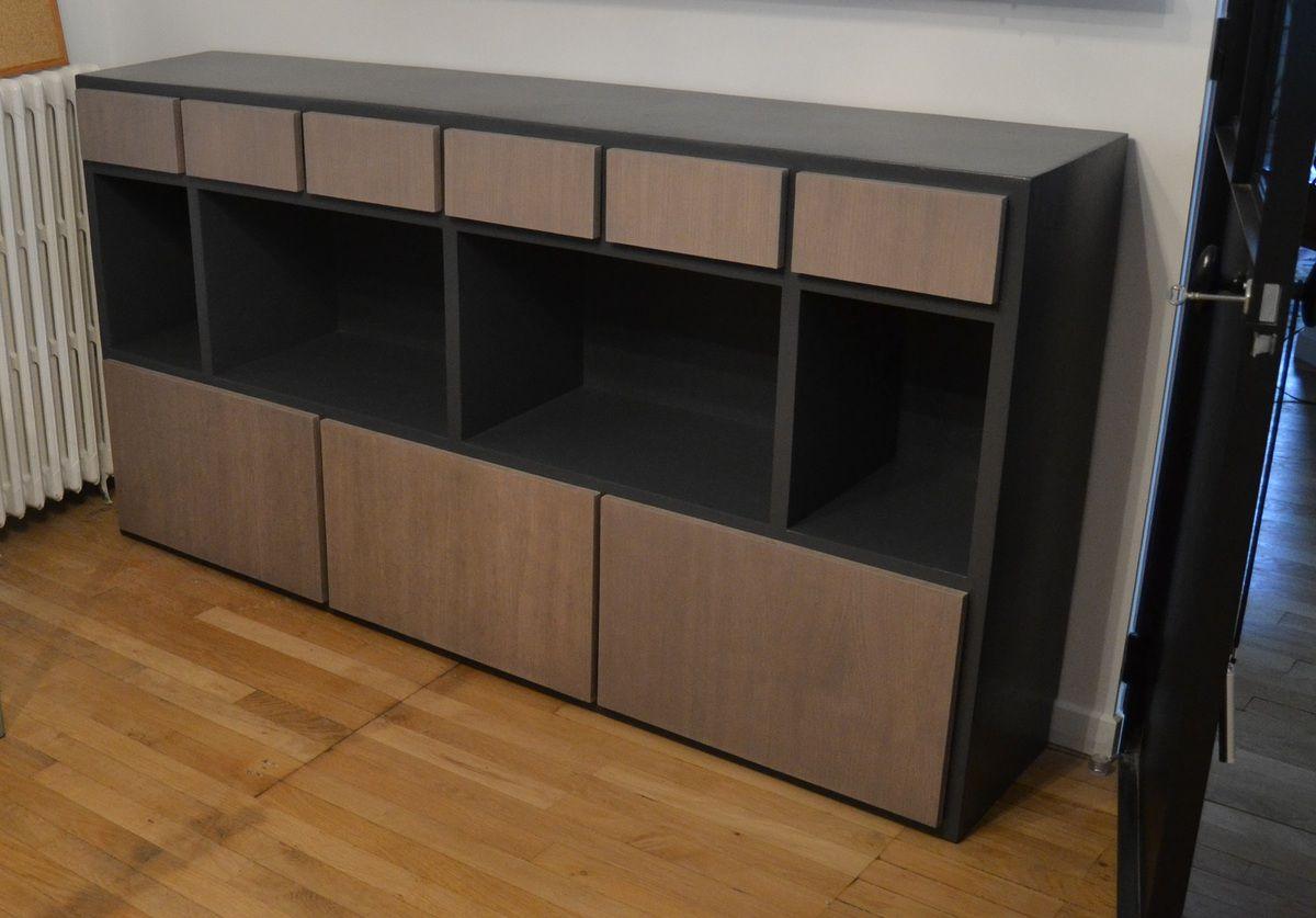 Rangements bureau meubles en carton angers for Meuble sur bureau