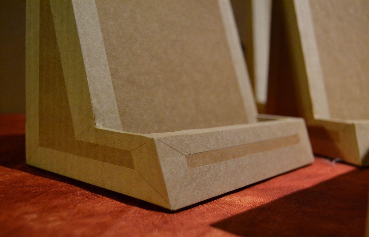 Carton ondulé et kraft gommé