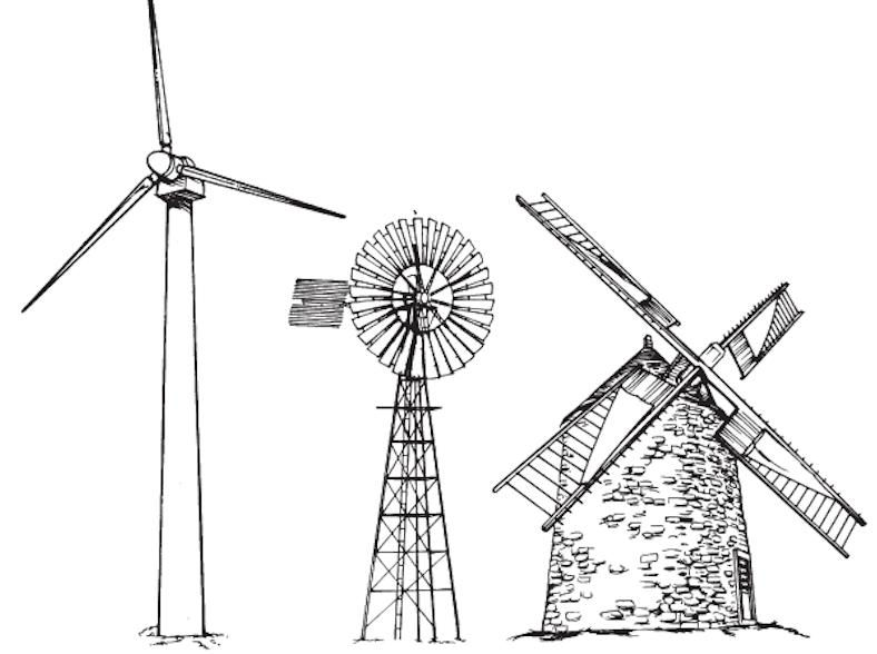 Les énergies renouvelables : L'éolienne !!