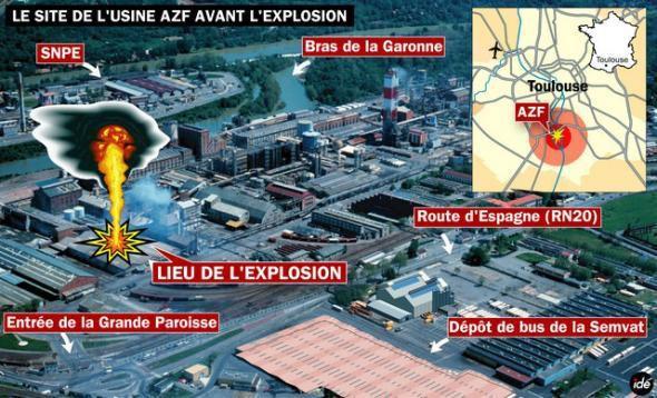AZF ou la catastrophe chimique Toulousaine !