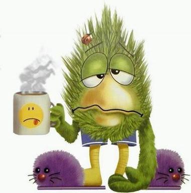 Rhube, heu... rhume !!