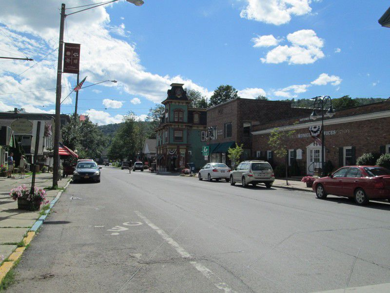 Woodstock et les Catskill Mountains