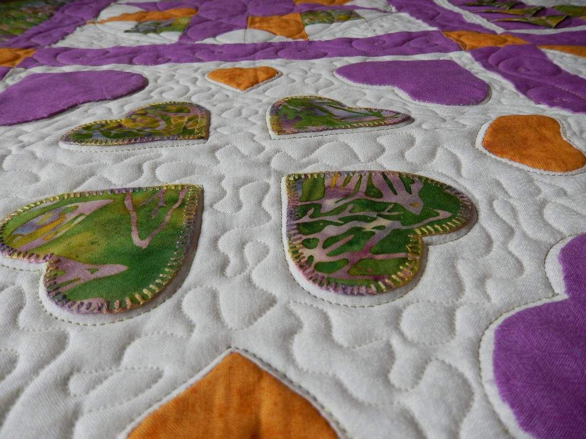 détails matelassage iris