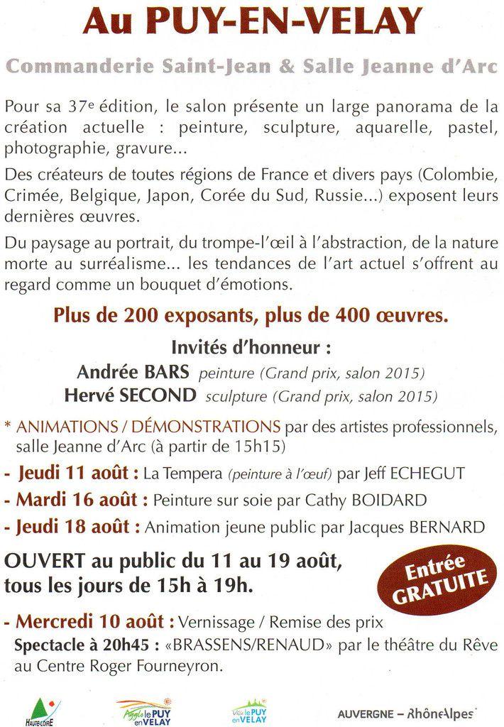 37 me salon international artistique de haute loire 2016 - Salon international de la photographie ...