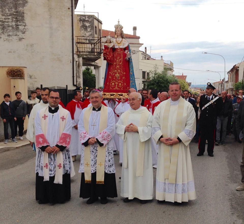 processione di M.S. di Costantinopoli