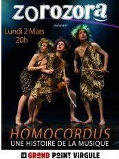 ZOROZORA présente HOMORCORDUS