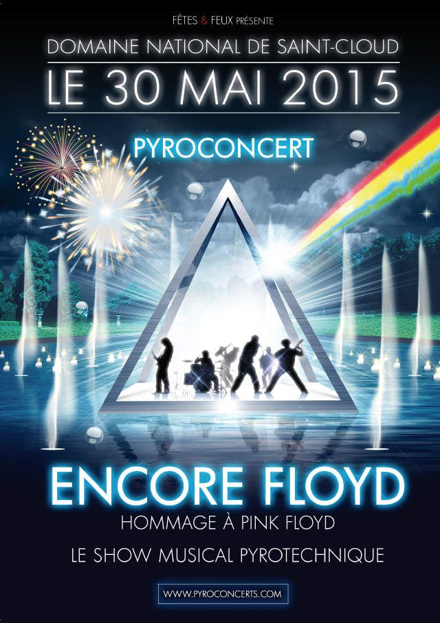 ENCORE FLOYD Spectacle Pyrotechnique !!!