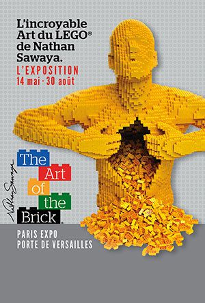 """THE ART OF THE BRICK"" à PARIS"