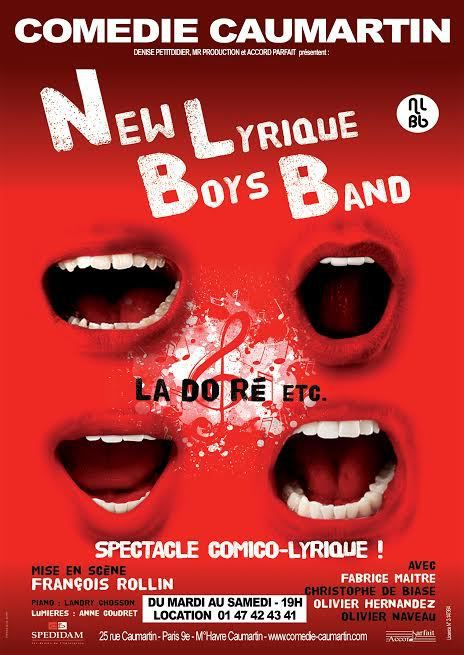 LA DO RE, etc... par Le New Lyrique Boys Band