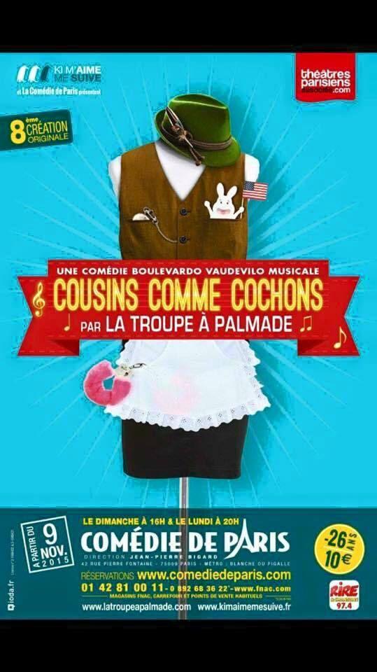 COUSINS COMME COCHONS
