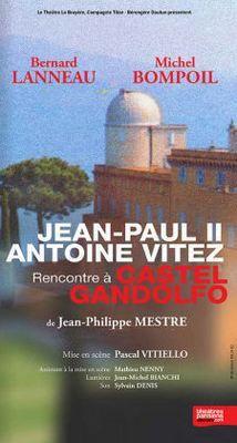 JEAN-PAUL II et Antoine VITEZ , La rencontre à Castel-Gandolfo