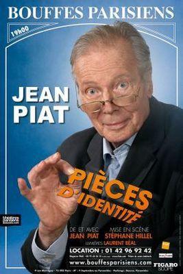 PIECES D'IDENTITE de Jean PIAT