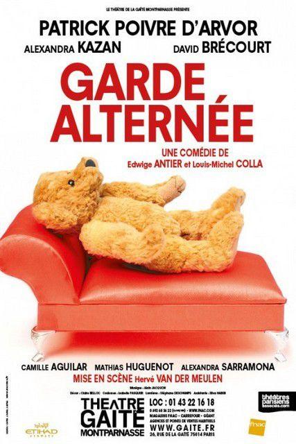 GARDE ALTERNEE au Théâtre de La Gaîté Montparnasse